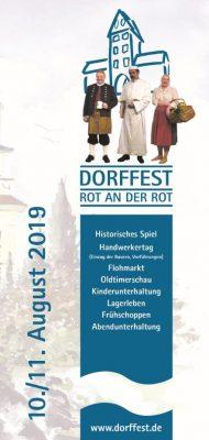 Dorffestflyer 2019